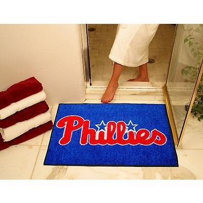 野球 MLB アメリカン ベースボール ウェア ユニフォーム ファンマット Philadelphia Phillies Bath Mat Shower Area Rug Bathroom