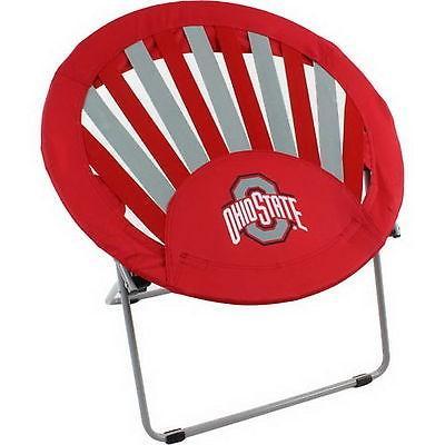 カレッジ スポーツ ユニフォーム NCAA Ohio State Buckeyes Rising Sun Bungee Chair