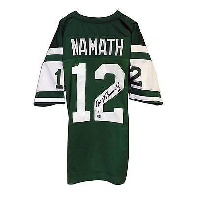 【超歓迎された】 フットボール NFLアメリカン ウェア ユニフォーム アスレティック Throwback Autographed ニット Joe Namath Jets Autographed Throwback Jersey New York Jets, ストラップのBig Brave:999c84c8 --- airmodconsu.dominiotemporario.com