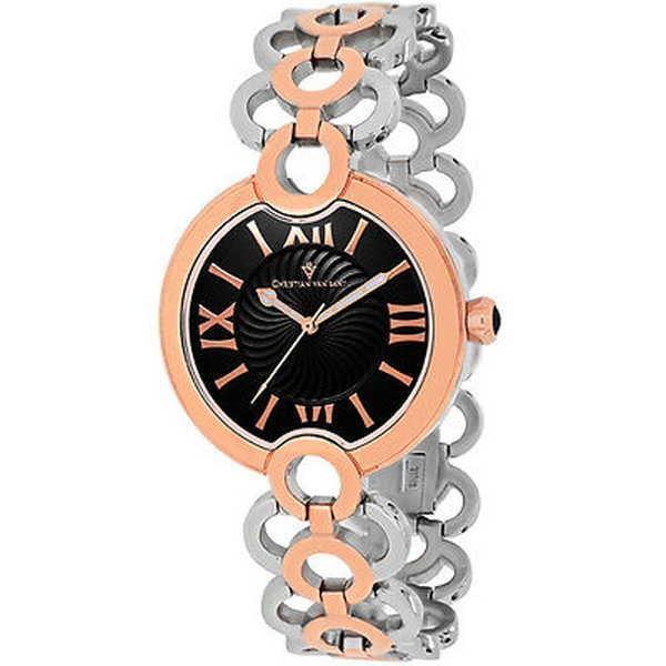 新作モデル 腕時計 レディース クリスチャンヴァンサント Christian Van Sant スチール レディース Christian CV2815 'Twirl' ツートン ステンレス スチール 腕時計, MUSIC SHOP POO:a8ff0128 --- airmodconsu.dominiotemporario.com
