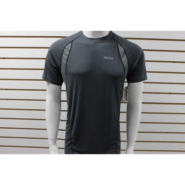アスレチック ウェア マーモット メンズ Marmot Interval 半袖 Shirt Slate グレー/Cinder ブランド