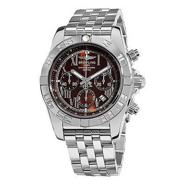 大特価!! 腕時計 ブライトリング スチール 44' Breitling メンズ AB011012-Q566 'クロノマット ステンレス 44' オートマチック ステンレス スチール 腕時計, トレジャージャパン:87a3d9ee --- airmodconsu.dominiotemporario.com