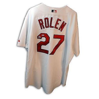 『2年保証』 野球 MLB アメリカン ベースボール ウェア ユニフォーム Scott Rolen Autographed Jersey Saint Louis Cardinals, エコライフShop ジーエムピー 44f85e23