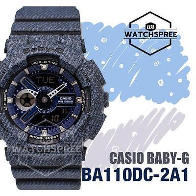 人気が高い  腕時計 腕時計 Watch カシオ Casio Baby-G New Demin'd Collection Limited BA110DC-2A1 Model Series Watch BA110DC-2A1, 香芝市:81eea639 --- airmodconsu.dominiotemporario.com