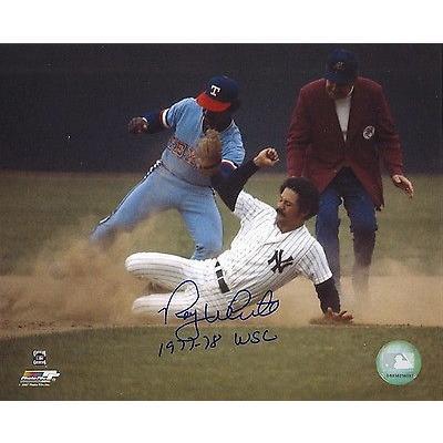 野球 MLB アメリカン ベースボール ウェア ユニフォーム Roy 白い Autographed 8x10 Photo
