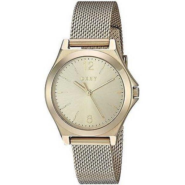 【激安セール】 腕時計 DKNY ディーケーエヌワイ DKNY レディース NY2534 NY2534 'Parsons' ゴールドトーン ステンレス 腕時計 スチール 腕時計, GreenLabel:aee96eb4 --- airmodconsu.dominiotemporario.com