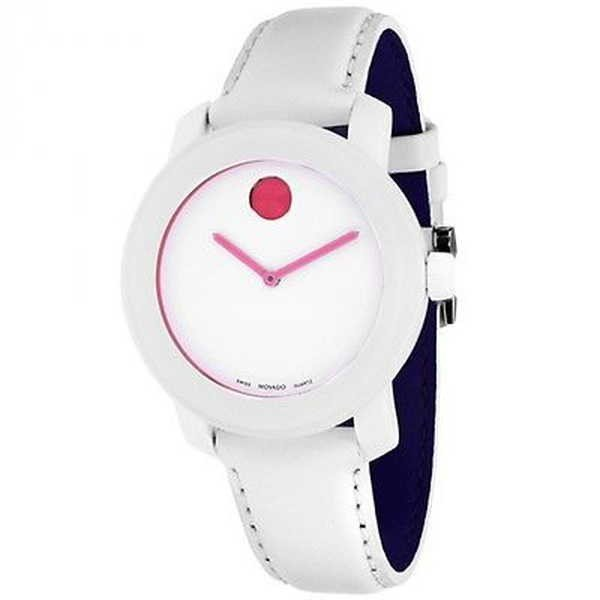 【即納&大特価】 腕時計 レザー モバード Movado ユニセックス 3600020