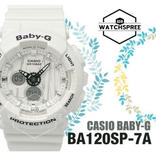 低価格で大人気の 腕時計 カシオ Casio Baby-G New Scratch Pattern BA-120 Series Watch BA120SP-7A, プラスデザイン fa8737e8