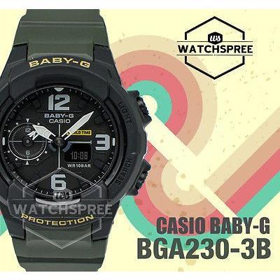 【アウトレット☆送料無料】 腕時計 カシオ Casio Baby-G New unisex designs BGA-230 Series Watch BGA230-3B, ノース&ウエスト 603edf89