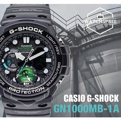 激安/新作 腕時計 カシオ Casio G-Shock Master of G Gulfmaster new Master in Marine Blue Watch GN1000MB-1A, 輸入セレクト【ベルメサージュ】 134f01fb