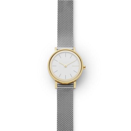 超美品の 腕時計 スカーゲン Skagen Hald Two Tone Stainless Steel Mesh Bracelet Watch SKW2445, RODEO BROS / ロデオブロス 28240729