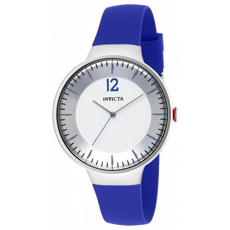 生まれのブランドで 腕時計 インヴィクタ New Invicta Blu 16071 Minimalist White Dial Watch, Lily Shop f6012a34