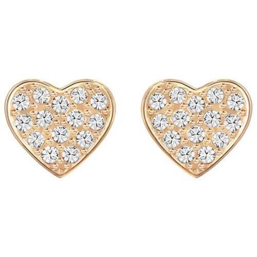 大特価放出! イヤリング スワロフスキー Swarovski Gold-plated 5198936 Cupid Pierced Earrings, Heart-shaped Cupid Rose Gold-plated Crystal 5198936, 宮古郡:f0563a12 --- airmodconsu.dominiotemporario.com