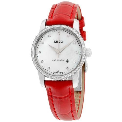 【海外限定】 Mido 腕時計 ミドー レディース オートマチック 腕時計 M76024697 ウイズ ウイズ Mido レザー ストラップ, グランプラス:680f903d --- airmodconsu.dominiotemporario.com