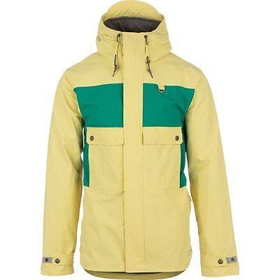 コート ジャケット ホールデン Holden Seville ジャケット メンズ Soft イエロー/エメラルド L