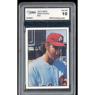 海外セレクション 野球 ベースボール メジャーリーグ カード1975 Steve Carlton SSPC Card Gem ミント 10 #32