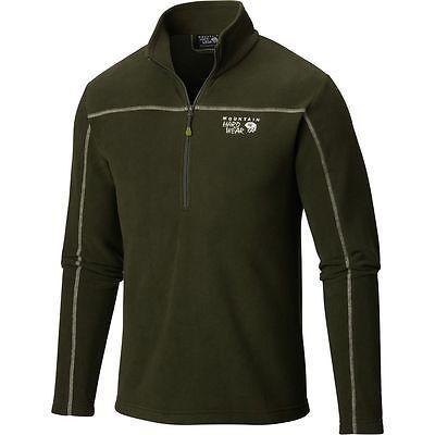 注目 アスレチック ウェア マウンテンハードウェア XL Mountain T Hardwear Microchill Fleece ジップ T Hardwear プルオーバー- メンズ Greenscape XL, ヤマトマチ:ac9fad09 --- airmodconsu.dominiotemporario.com