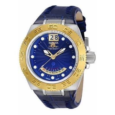 最上の品質な インヴィクタ 10877 ブルー サブアクア スポーツ スイス メイド ディ ビッグ デート ミッド-サイズ 腕時計, 海山町 ff77a546