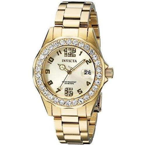お気に入りの インヴィクタ 腕時計 腕時計 Invicta 21397 レディース Pro 21397 スチール Diver 18k ゴールド Ion プレート ステンレス スチール 腕時計 W_no_color_, サガノセキマチ:dcd2ffb1 --- airmodconsu.dominiotemporario.com