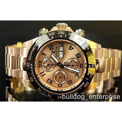 国内最安値! 腕時計 インヴィクタ Men Invicta Reserve Speedway Valjoux 7750 Automatic Rose Gold Swiss Watch New, サカウチムラ 2cca947c