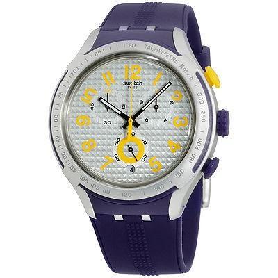 公式 Swatch スウォッチ 腕時計 スウォッチ Irony XLITE クロノグラフ YYS4014 イエロー PUSHER, ホソイリムラ cf70b5d6