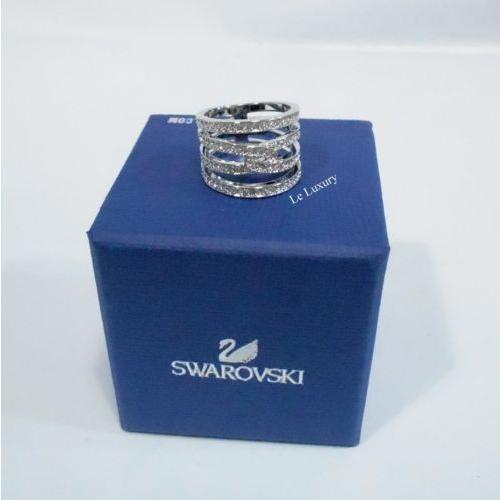 【ファッション通販】 リング 5133974 スワロフスキー M/55 Swarovski Creativity Ring MIB Size: M/55 Rhodium-plated Clear crystal MIB 5133974, 寝具ベスト通販:f134442c --- odvoz-vyklizeni.cz