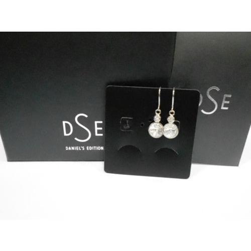 見事な イヤリング 海外バイヤーセレクト DSE 5087673 Twin Solitaire Long Long Solitaire Earrings Swarovski Twin crystal/ rhodium-plated, 西浅井町:1287f531 --- airmodconsu.dominiotemporario.com
