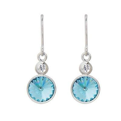 [定休日以外毎日出荷中] イヤリング Earrings 海外バイヤーセレクト DSE 5087676 Twin Twin イヤリング Solitaire Long Earrings Swarovski aquamarine crystal Authentic, KURA-PURA:46aac577 --- airmodconsu.dominiotemporario.com