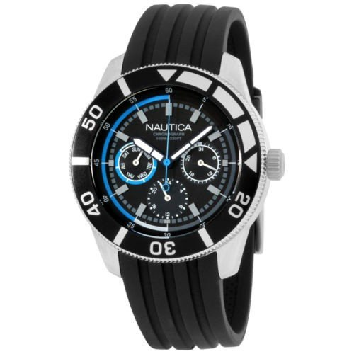 【超歓迎】 Nautica ノーティカ メンズ N16623M NSR 08 Mid クラシック ステンレス スチール 腕時計, 奥州珈琲 自家焙煎コーヒー専門店 5a5d1ec4