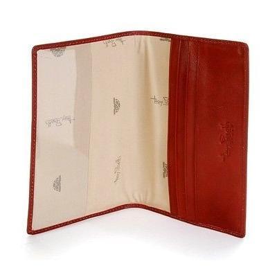 トニーペロッティ パスポート IDホルダー カバー ケース ビジネス Tony Perotti Italy Ultimo Pasスポーツ Cover in レッド