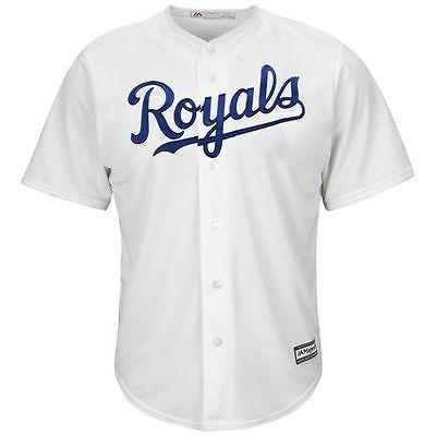 【本物新品保証】 マジェスティック アメリカ USA メジャー リーグ 全米 野球 MLB Majestic Kansas City ロイヤルs ユース ホワイト Official Cool Base ジャージ, 椿油 本島椿(ホントウツバキ) 8535c38a