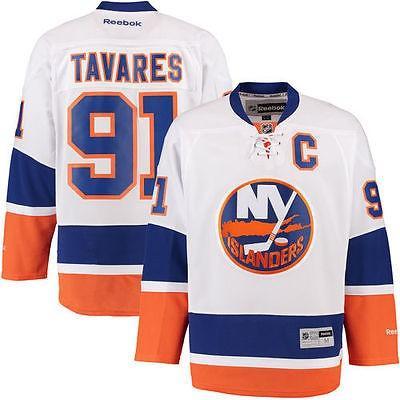 リーボック アメリカ USA カレッジ 全米 リーグ ホッケー NHL Reebok John Tavares New York Islanders ホワイト Premier Player ジャージ