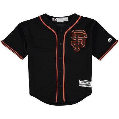 大人気 マジェスティック Francisco アメリカ USA メジャー ブラック リーグ 全米 野球 San MLB Majestic San Francisco Giants Preスクール ブラック Official Cool Base チーム ジャージ, LODGE:f49382d2 --- airmodconsu.dominiotemporario.com