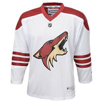 【当店限定販売】 リーボック アメリカ USA カレッジ 全米 リーグ ホッケー NHL Reebok Arizona Coyotes ユース ホワイト Replica Away ジャージ, Heimatberg b5694f37