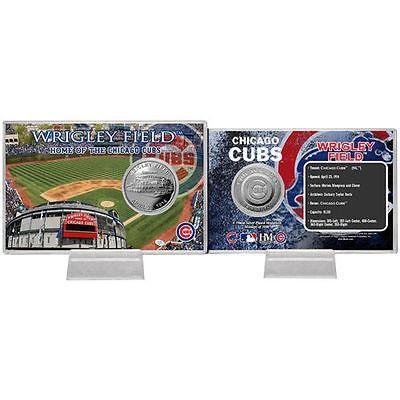 海外セレクション ベースボール 野球 Chicago Cubs Stadium シルバー コイン Card