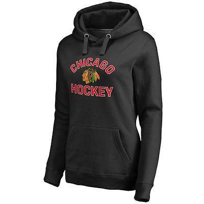 通販 ファナティックス アイスホッケー NHL アメリカ USA レディース 全米 ナショナルリーグ Chicago ブラックホークス アイスホッケー USA レディース ブラック Overtime 2 プルオーバーパーカー, ウメマチ:83be7768 --- airmodconsu.dominiotemporario.com