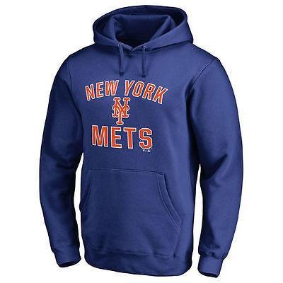 ファナティックス ブランディッド ベースボール MLB 野球 アメリカ USA 全米 New York York York Mets Royal Victory Arch プルオーバーパーカー 43c