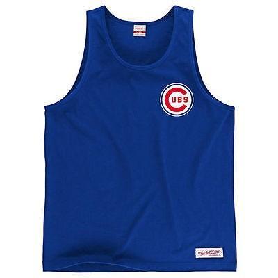 ミッチェル ネス ベースボール MLB 野球 アメリカ USA 全米 Mitchell Ness Chicago Cubs Royal Batter's Box タンクトップ
