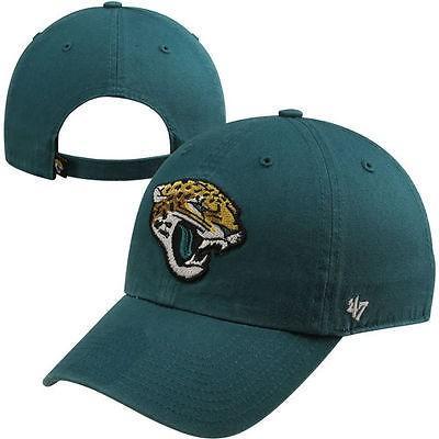 フォーティーセブンブランド フットボール NFL 47 ブランド Jacksonville Jaguars Teal Basic Logo Cleanup アジャスタブル Hat