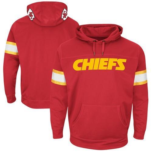 【お気に入り】 フットボール NFL アメリカ USA 全米 メジャー マジェスティック Majestic Kansas City Chiefs Red Helmet Synthetic Pullover Hoodie, にくきゅうMarket 976a3364