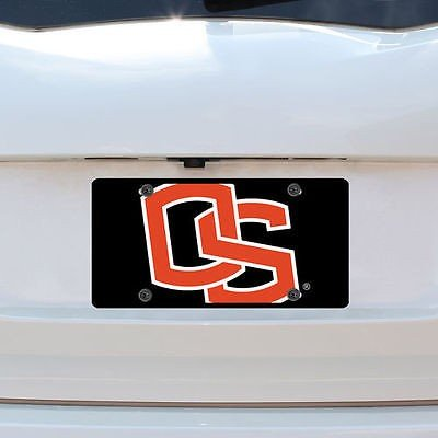 ストックデイル カレッジ - NCAA Oregon State Beavers Mega License プレート Inlaid