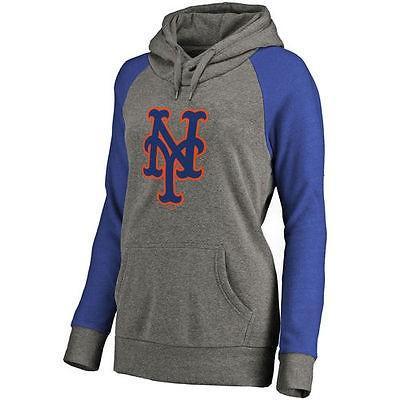 驚きの値段 野球 MLB - MLB New York Mets Mets レディース Ash Primary Primary Logo Raglan スリーブ Tri-Blend プルオーバーパーカー, 堀越農場:a616d492 --- airmodconsu.dominiotemporario.com