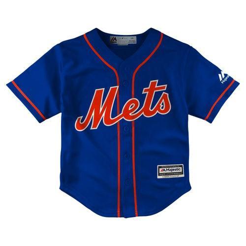 ベースボール MLB 野球 アメリカ USA メジャー マジェスティック Majestic New York Mets Toddler Royal 青 Official Cool Base Jersey
