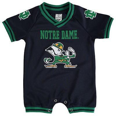 スポーツ ファン ウェア レプリカ ユニフォーム 応援 カレッジ NCAA コロシアム Colosseum Notre Dame Fighting Irish Infant Navy Super Fan II Romper