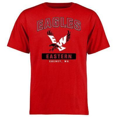 スポーツ ファン ウェア レプリカ ユニフォーム 応援 カレッジ NCAA Eastern Washington Eagles 赤 Big Tall Campus Icon T Shirt