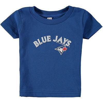 ベースボール MLB 野球 アメリカ USA メジャー 海外セレクション Soft as a Grape Toronto 青 Jays Infant Royal Wordmark T-Shirt