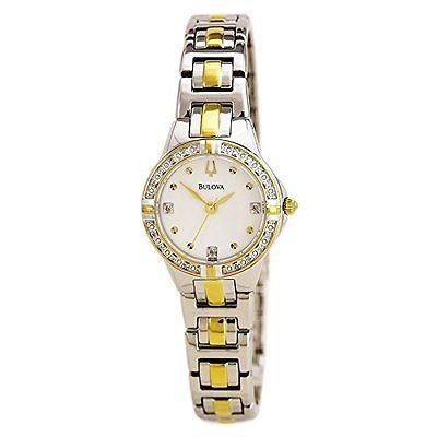 高級ブランド 腕時計 ブローバ Bulova 98R166 レディース ダイヤモンド ケース 腕時計, samedi et dimanche 3655ac84