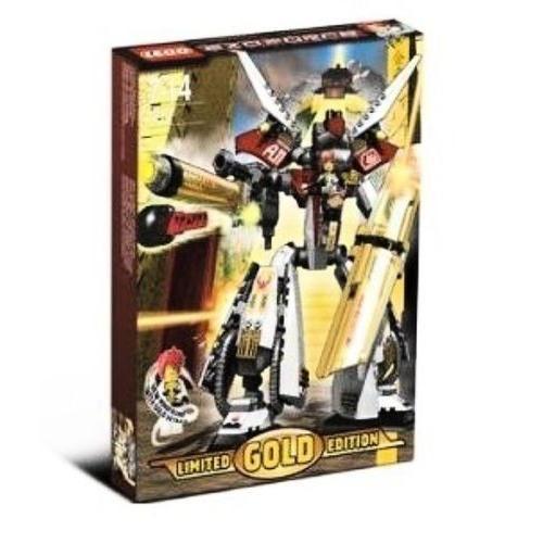 セット レゴ LEGO Exo Force Set リミテッド ゴールド Ed. #7144 ゴールドen Guardian