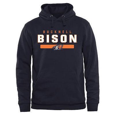 カレッジ NCAA アメリカ USA 大学 スポーツ ファナティックス ブランデッド Bucknell Bison Team Strong プルオーバーパーカー - ネイビー ブルー