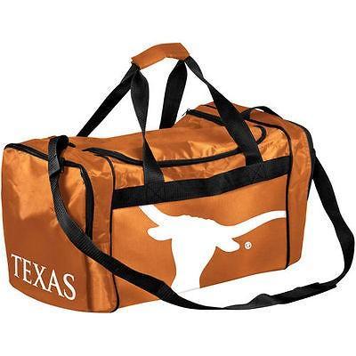カレッジ NCAA USA アメリカ Texas Longhorns Burnt オレンジ Core Big ロゴ Duffel バッグ